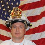 A photo of Fire Chief Brian Kerr